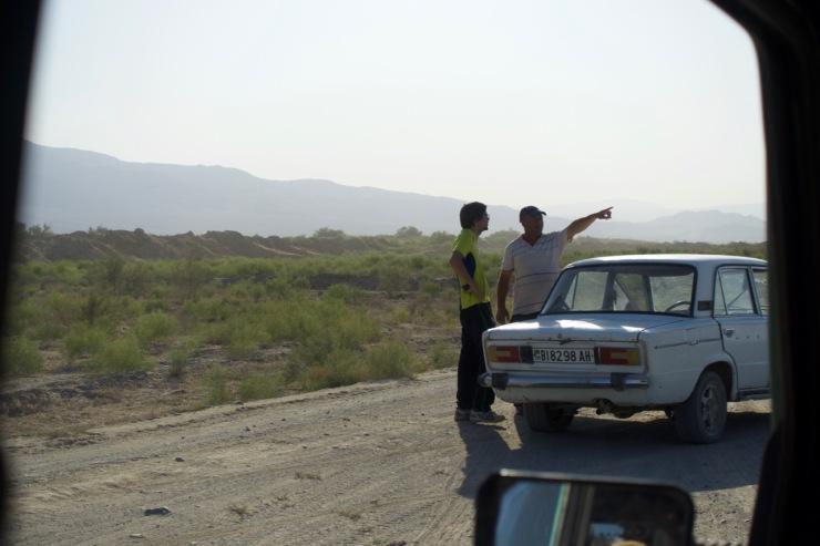 Seesuche in Turkmenistan